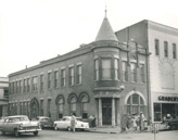 Bank of Mississippi exterior, circa 1950