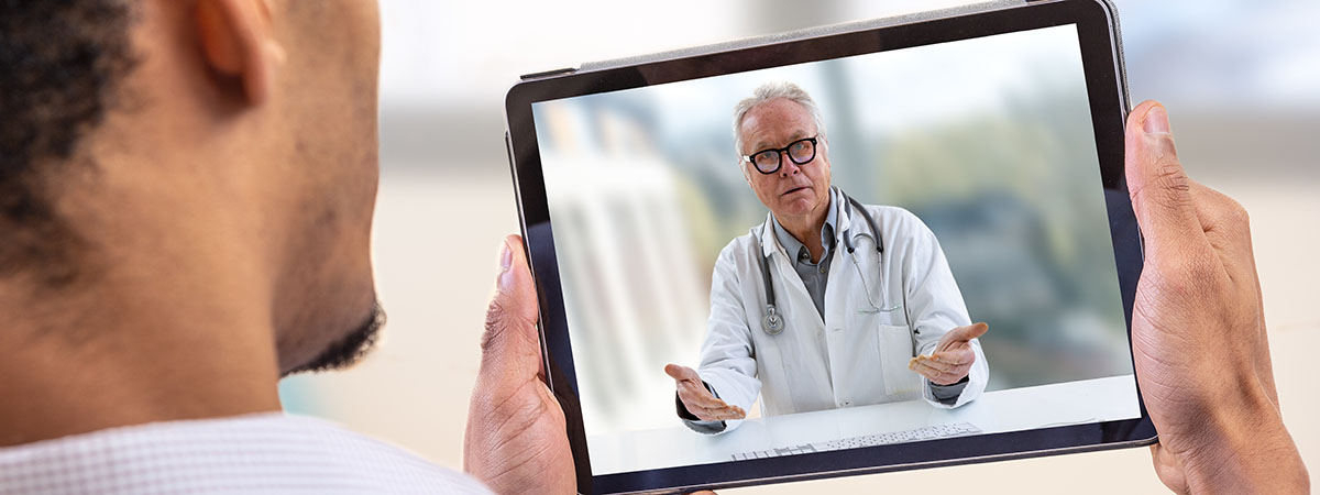 Teledoctor on Tablet