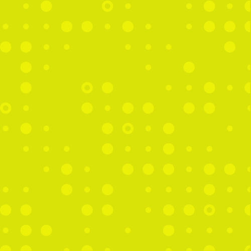 Yellow bubble background