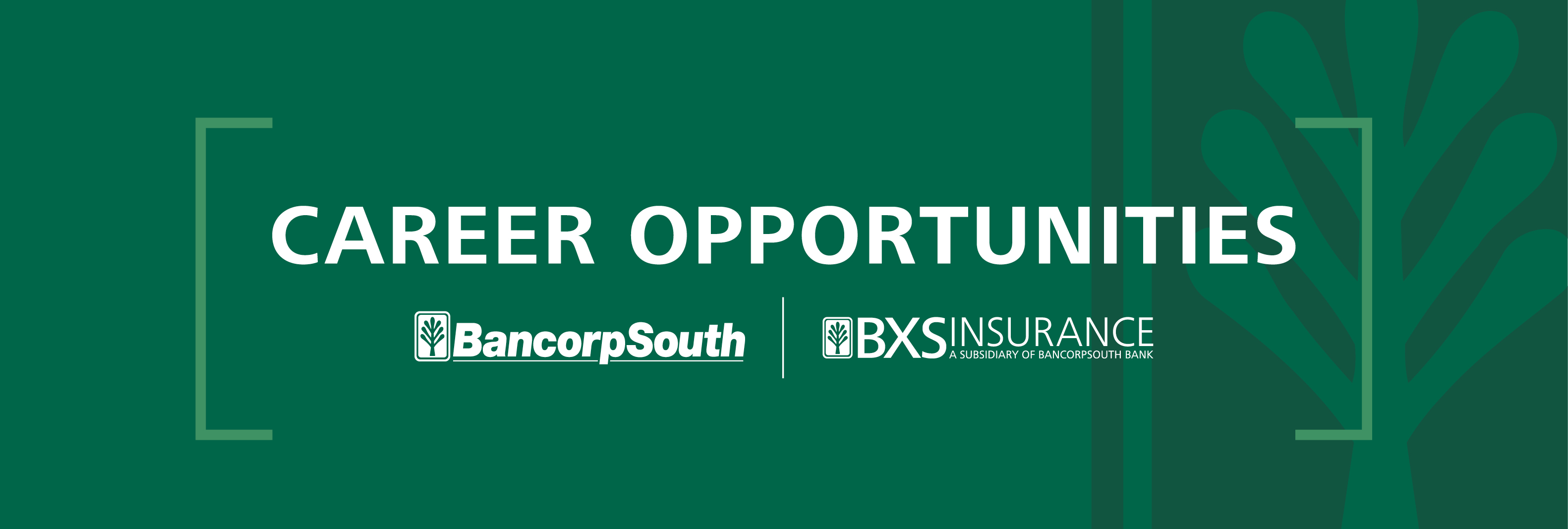 BXS Career Center. Apply today to become part of the BancorpSouth team.