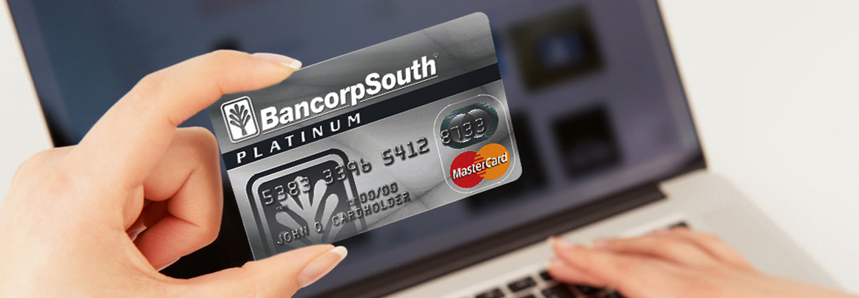 Bancorp south Platinum master card online shopping