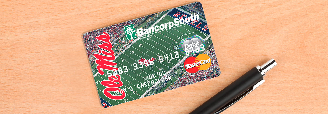 Ole Miss Master Student Card College football