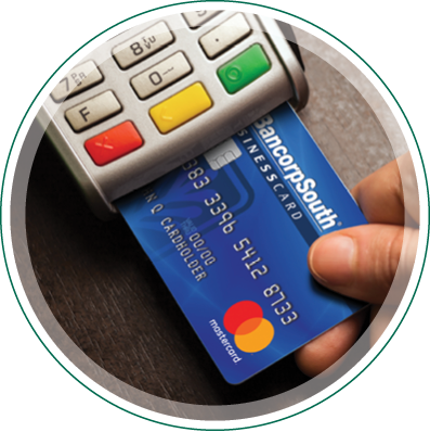 Business banking financial management bancorpsouth a business credit card with benefits reheart Image collections
